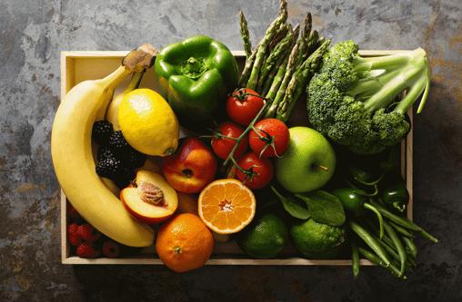 Darmflora aufbauen Obst und Gemüse