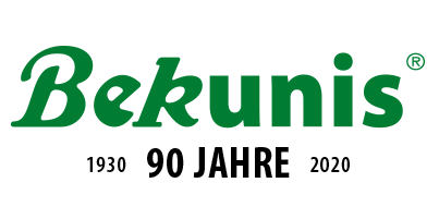 90 jahre Bekunis Jubiläums-Logo