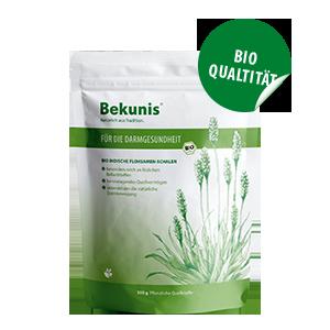 Bekunis Flohsamen-Schalen Bio-Qualität 1 Kg